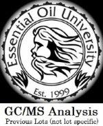 Essential Oil University GC/MS Analysis