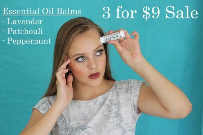 Essential Oil Balms