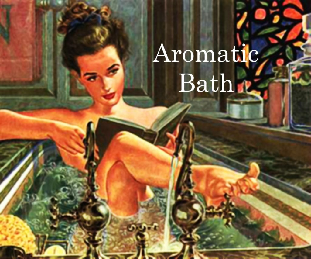 Aromatic Bath with Essential Oils