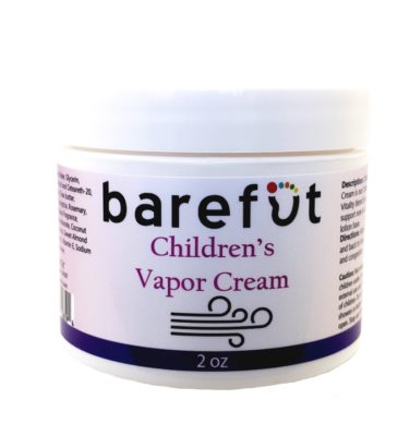 Barefut Children's Vapor Cream 2oz