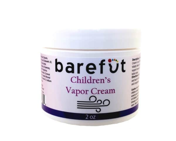 Barefut Children's Vapor Cream 2oz