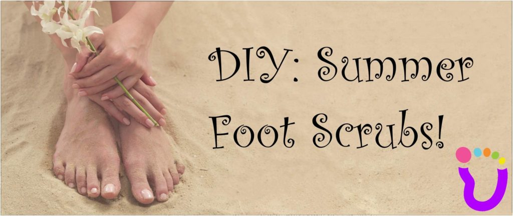 DIY: Summer Foot Scrubs