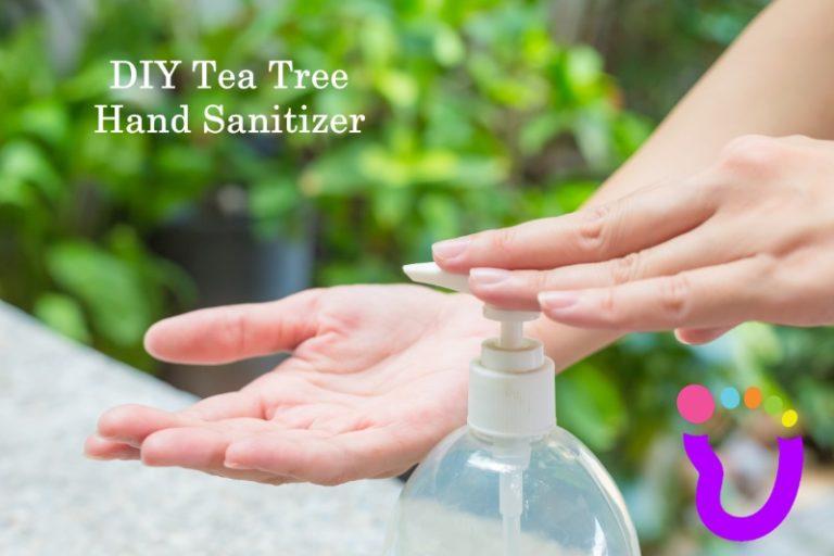 DIY Tea Tree Hand Sanitizer Recipe