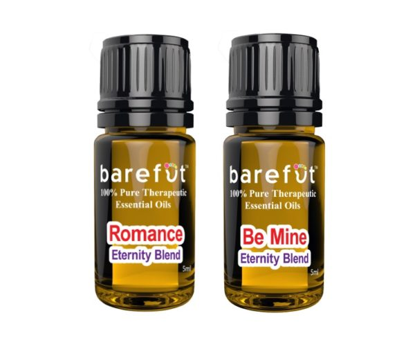 Romance Be Mine BOGO Valentines Day Essential Oil Blends Barefut