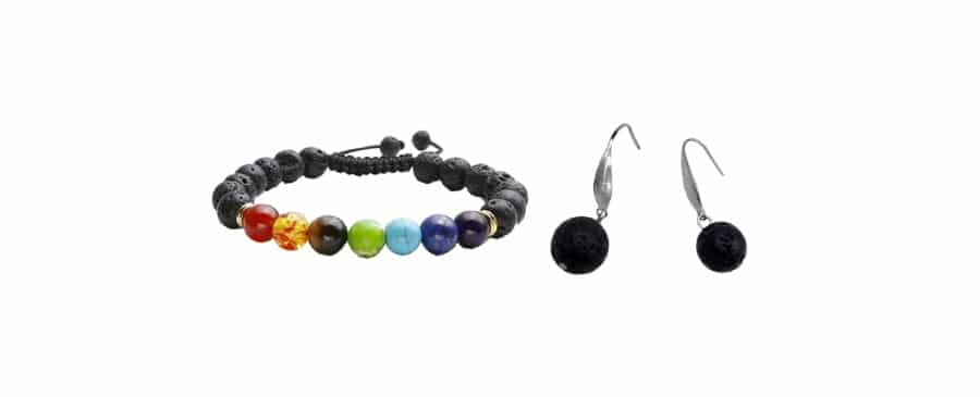 Aromatherapy Bracelet and Earrings