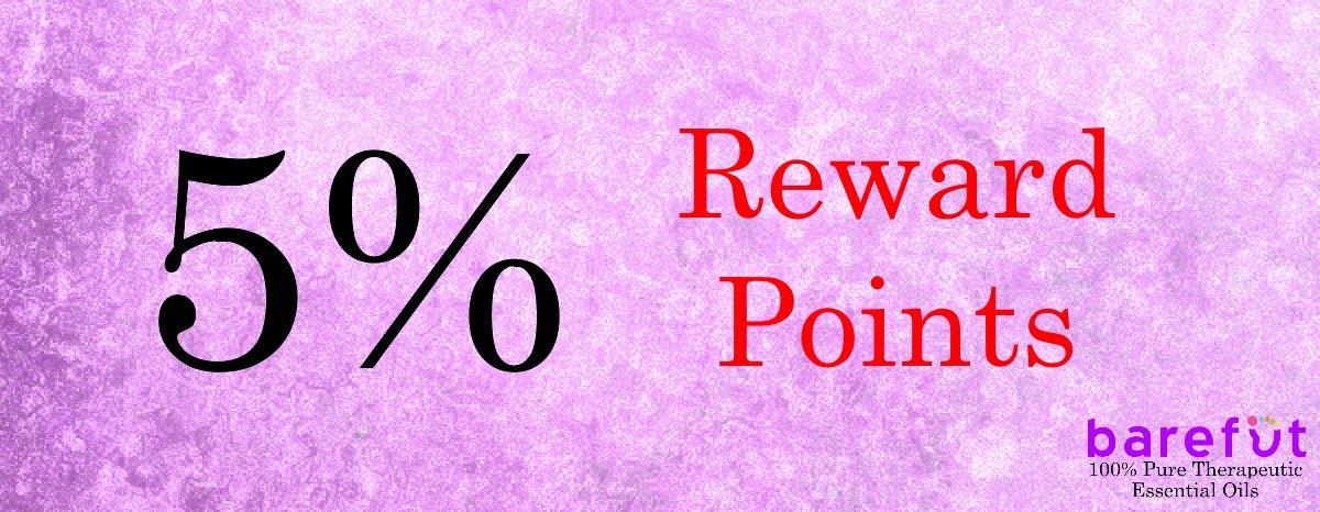 barefut Essential Oils Reward Points