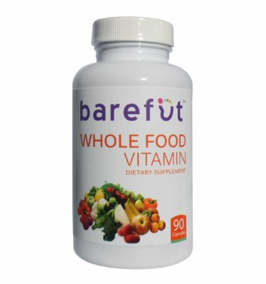 Barefut Whole Food Vitamin Dietary Supplement