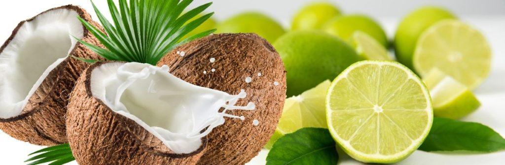 Coconut Lime Essential Oil Body Scrub
