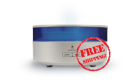 AromaMist White Essential Oil Diffuser